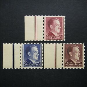 Germany Nazi 1942 Stamp MNH Adolf Hitler 53rd birthday Generalgouvernement WWII