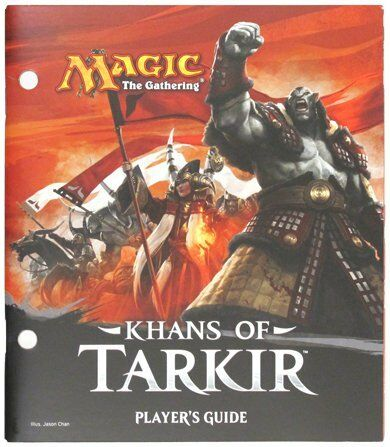 Khans of Tarkir Players Guide Wizards of the Coast GAMING SUPPLY BRAND NEW