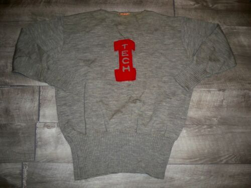 1930s Vintage Stadium Knit Letterman College High
