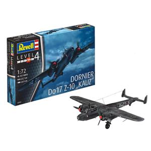 REVELL-3933-Dornier-Do17Z-10-1-72-Aircraft-Model-Kit