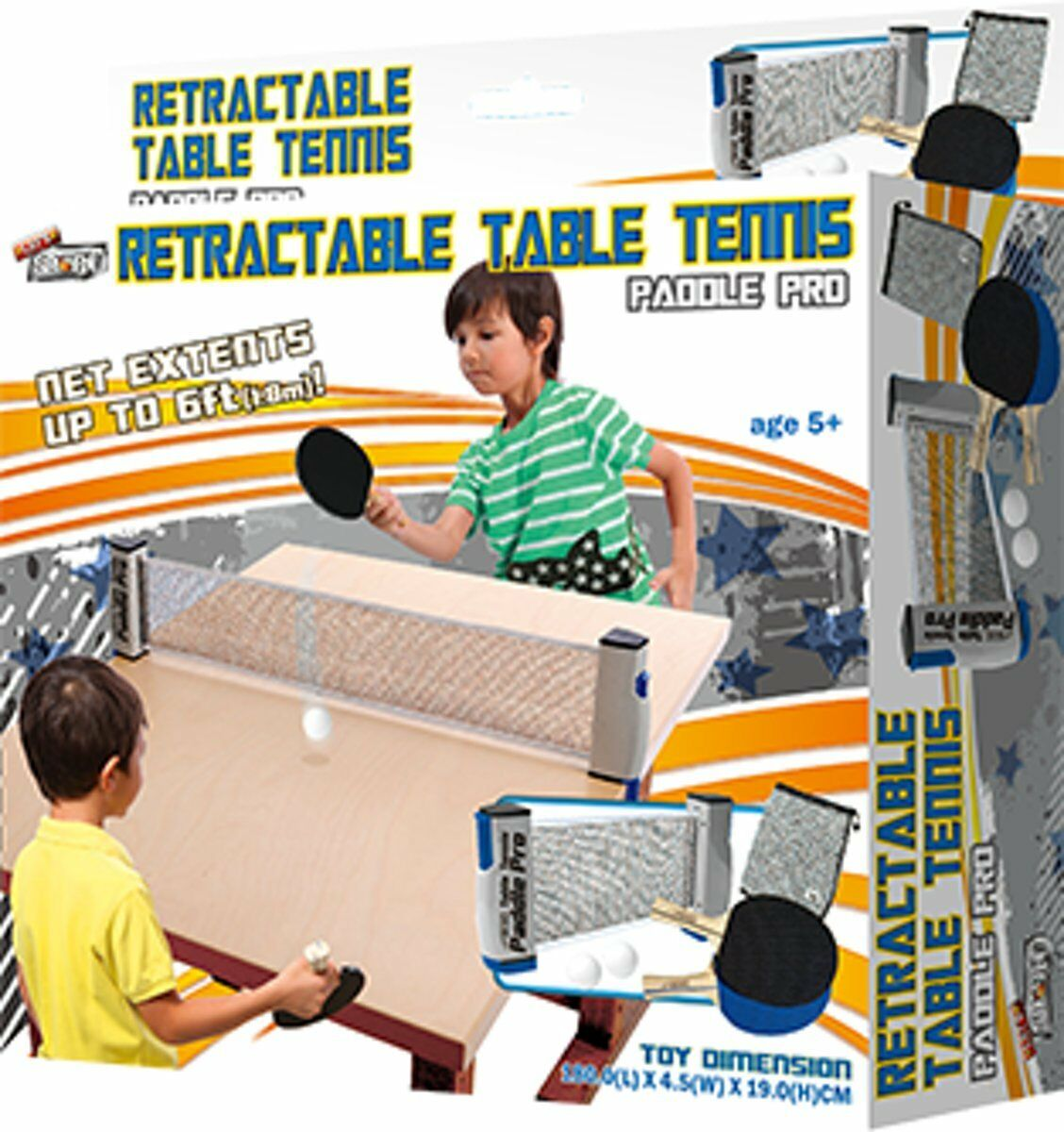 Rétractable Tennis de Table sports-jeux Set-enfants jeux de sports-jeux Table de plein air (ES463) a93fc6