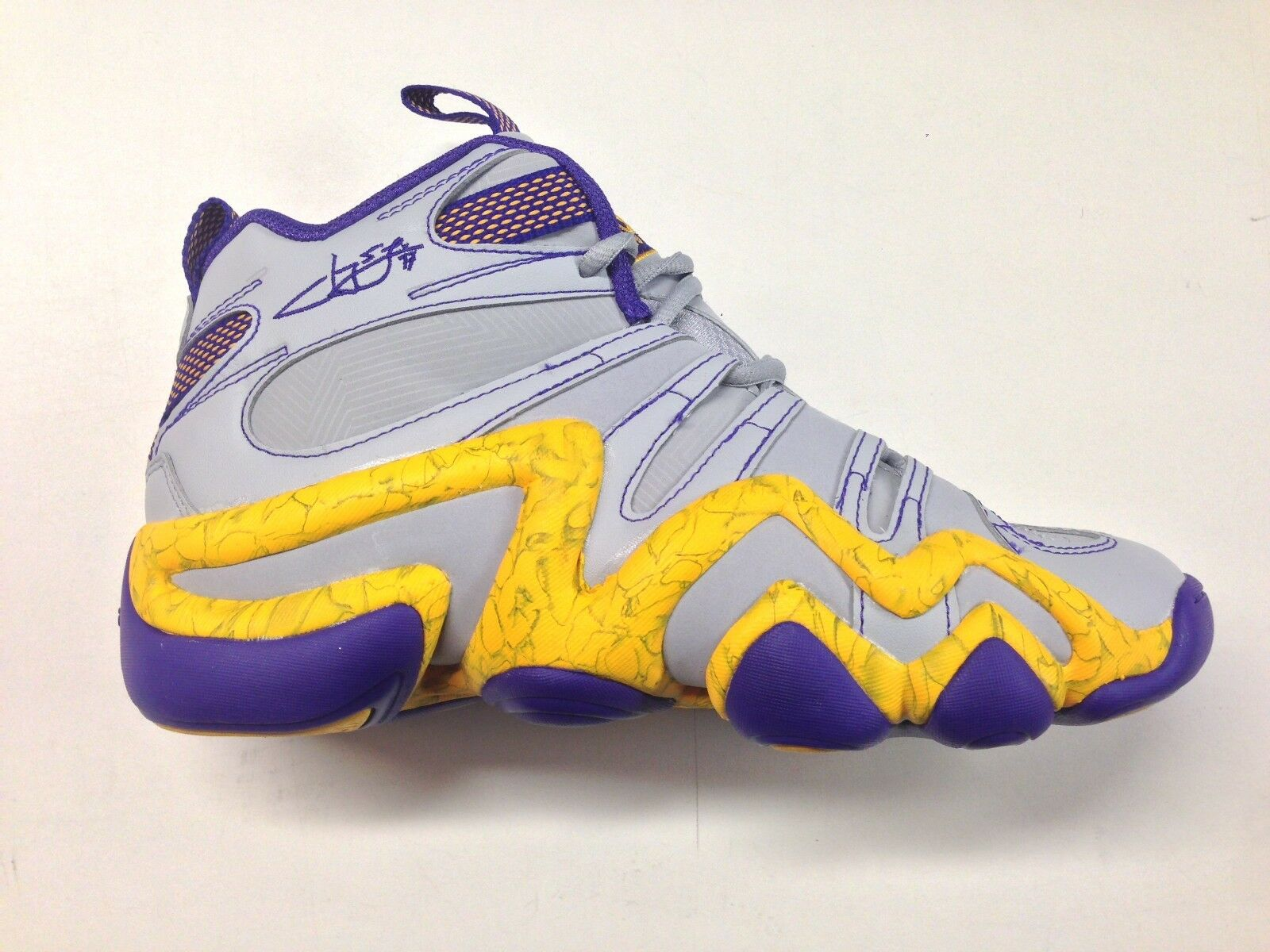 Adidas jeremy lin grau - gelben kobe crazy 8 - lakers turnschuhe c77701 1702-92