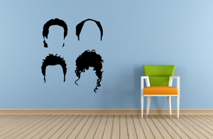 Seinfeld Characters TV Show Wall Sticker Home Room Vinyl Art Decal Decors