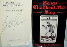SONGS THE DEAD MEN SING by George RR Martin (a game of thrones) 1985 1st SIGNED