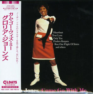 GLORIA-JONES-COME-GO-WITH-ME-JAPAN-MINI-LP-CD-BONUS-TRACK-C94