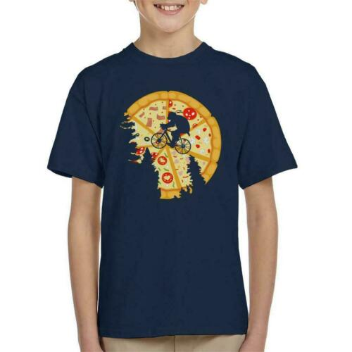 Teenage MUTANT NINJA TURTLES PIZZA Moon Kid/'s T-shirt