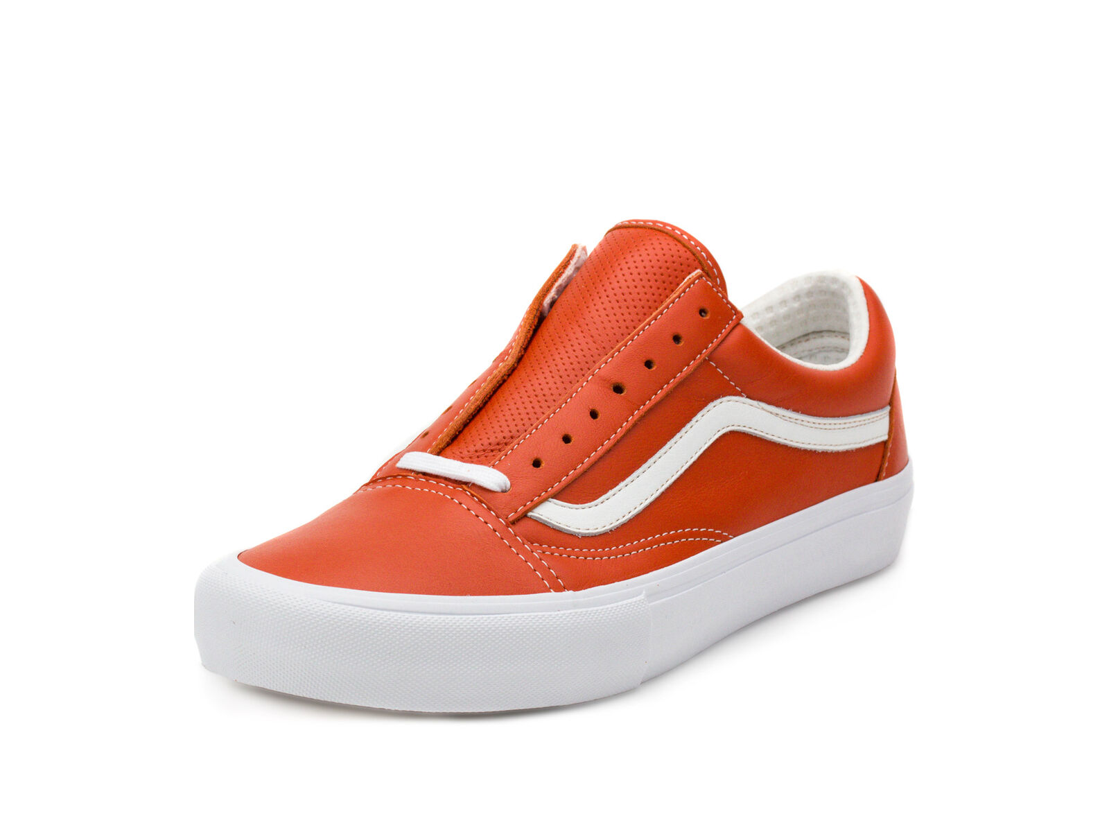 Vans Mens Old Skool VLT LX Italian Leather Mango VN0A3MUWR2V