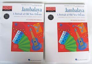 100% De Qualité E. Rocherolle Jambalaya Portrait Old New Orleans Deux Pianos Huit Mains 2 Bks-afficher Le Titre D'origine Pourtant Pas Vulgaire