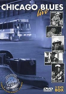Various Artists - Chicago Blues live (3 DVDs) | DVD | Zustand sehr gut