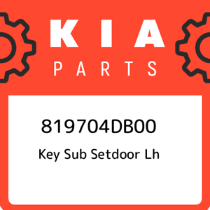 819704DB00-Kia-Key-sub-setdoor-lh-819704DB00-New-Genuine-OEM-Part