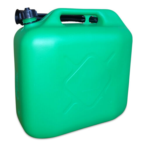 10 x 20 L Kraftstoffkanister Benzin Diesel Kanister Reservetank UN-Nummer grün