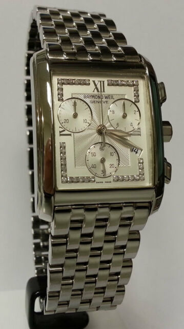 Raymond Weil Watch 5025264 Analogue Chronograph Stainless Steel Silver