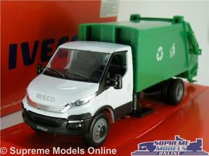 IVECO-DAILY-MODEL-TRUCK-VAN-DUSTCART-REFUSE-WAGON-1-36-SCALE-NEW-RAY-DUST-CART-K