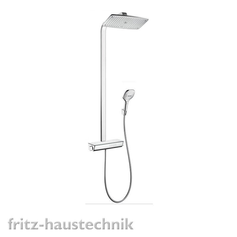 Hansgrohe Select 360 Showerpipe Duschsystem Thermostat 27112000  Kopfbrause Kopfbrause Kopfbrause | Lebhaft und liebenswert  | Verkauf Online-Shop  | Gutes Design  8a301a