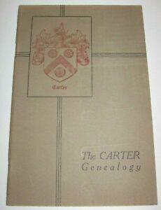 CARTER-FAMILY-RECORDS-History-Seaver-BOOK-GENEALOGY-1929