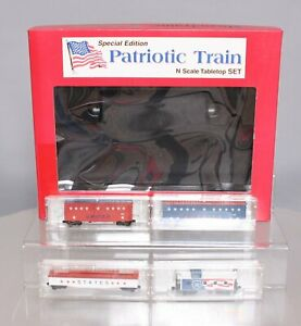Micro-Trains 9514003501 N Patriotic Train Special Edition Set NIB