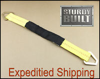 2x 24 Axle Straps Car Trailer Hot Rod Tow Truck Off Road 4x4 Tie Downs Ratchet