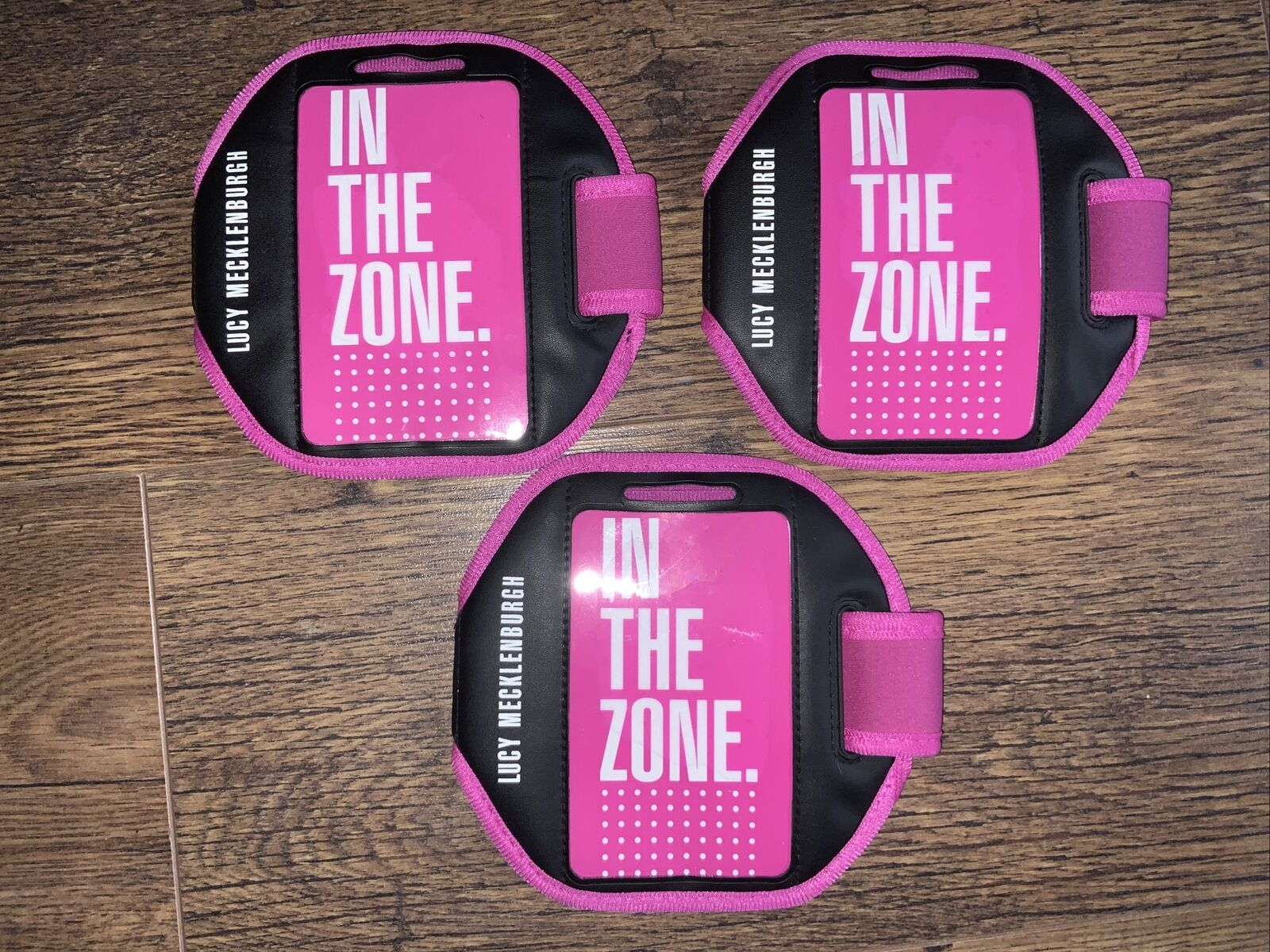 lucy mecklenburgh In The Zone Phone Armbands X3
