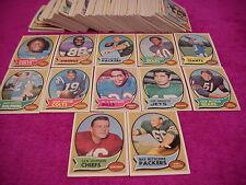 Topps Football Card Set 1970 ( Simpson Rookie)