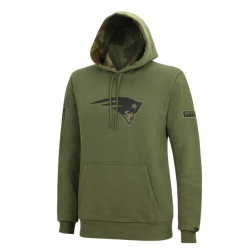 New Era NFL NEW ENGLAND PATRIOTS Camo Large Print Hoodie Pullover NEU//OVP