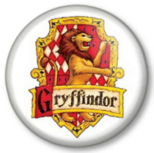 gryffindor 1quot 25mm pin button badge harry potter house