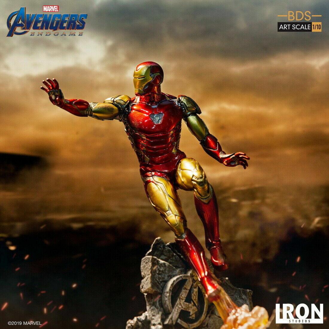 Iron Studios 1:10 Scale Iron Man MK85 Statue The Avengers End Game  on eBay thumbnail
