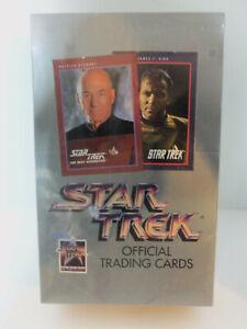 Vintage-1991-NEW-SEALED-Impel-Star-Trek-Unopened-Box-Official-Trading-Card-Packs