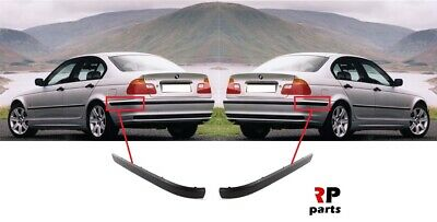 FOR BMW 3 E46 SEDAN 2001-2005 NEW REAR BUMPER CENTER MOLDING TRIM WITH PDC HOLE