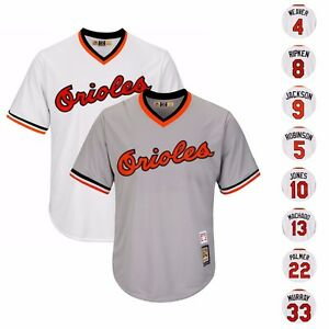 21bfbf14c42 Image is loading 1982-BALTIMORE-ORIOLES-COOPERSTOWN-HOME-amp-ROAD-COOL-