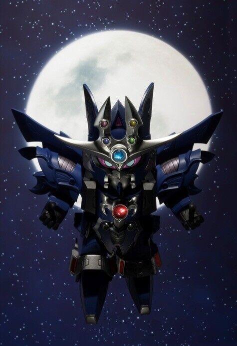 Ganso Sd Gundam World Gaiden Kikoushin Chaos Gaia Kit Modello Bandai Nuovo