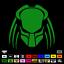 """22 color choices Predator vinyl decal Sticker 5.5/"""" x 5.5/"""" Schwarzenegger 101"""
