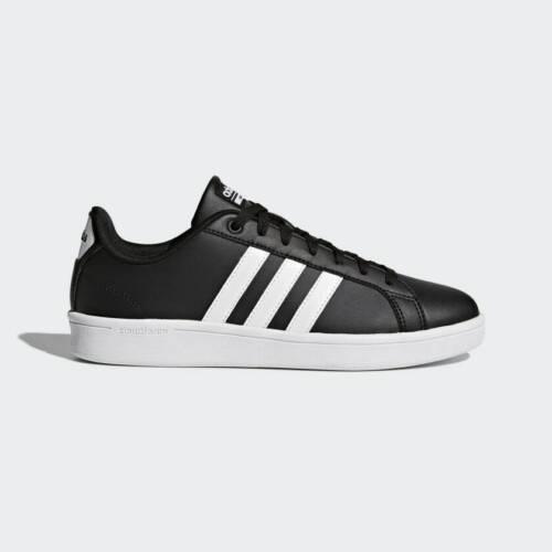 adidas Men/'s NEO Cloudfoam Advantage Fashion Sneaker B74264 Black//White//White