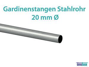 Stahlrohr 100 Mm : gardinenstange stahlrohr edelstahl optik 20 mm 100 cm ~ Watch28wear.com Haus und Dekorationen