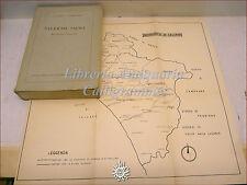 CAMPANIA: Crisci-Campagna, SALERNO SACRA Ricerche Storiche 1962, tavole e carta