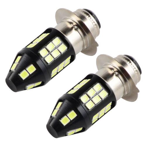 For Yamaha LED Headlight Bulbs Kit Grizzly YFM450FGP YFM450FGPH 4x4 2011-2013