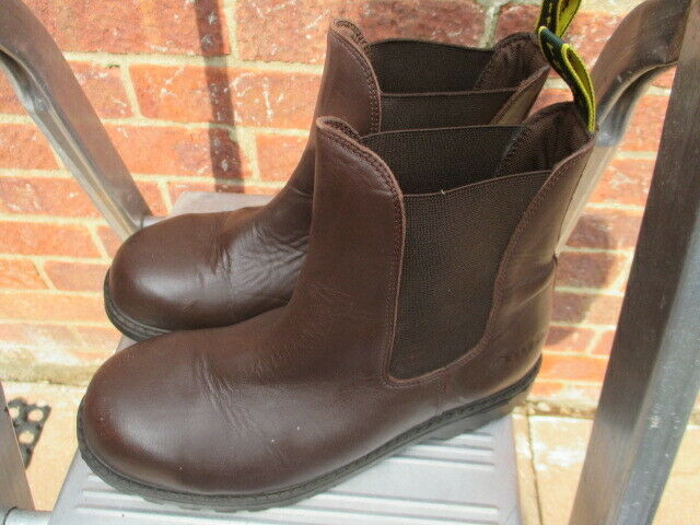 TROJAN SAFETY BOOTS, BROWN eur 37 -