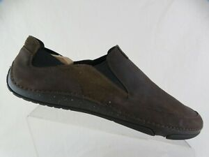TIMBERLAND-Brookridge-Brown-Sz-13-M-Earthkeepers-Gore-Leather-Slip-On-Drinving