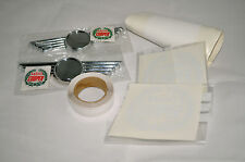 Classic Mini NEW Sportspack White Type Decal and Badge Kit