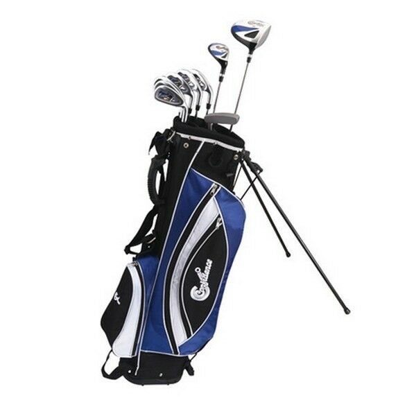 """Confidence Golf YOUTH -1"""" POWER Hybrid Set & Stand Bag"""