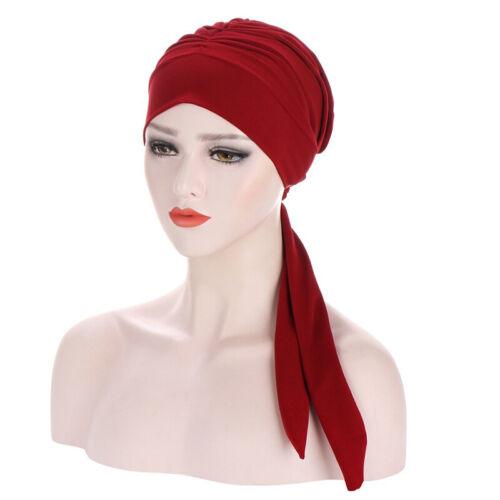 Bandana Cancer Turban Pre-Tied Headwear Caps Cover Women/'s Head Scarf Chemo Hat