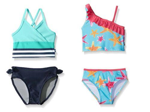 Nautica Baby Girl/'s Tankini Bathing Swim Suit 2-Piece UPF 50 Sun Protection NEW