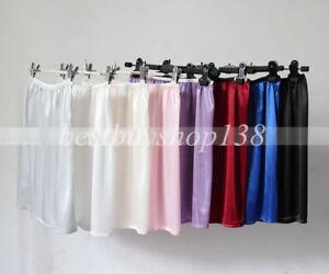 Women's Anti-Static Half Slip Liner Skirt Lingerie Sleepwear