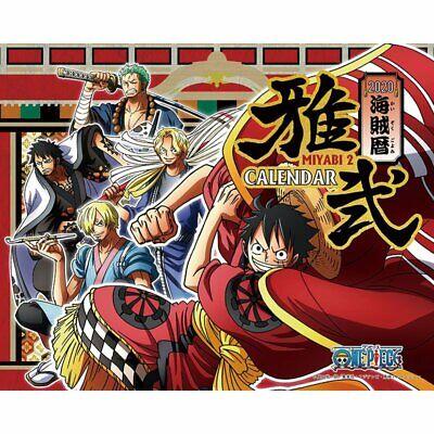 雅弐 One Piece Desk Top Calendar 2020//MIYABI 2 //From Japan//New//with Tracking