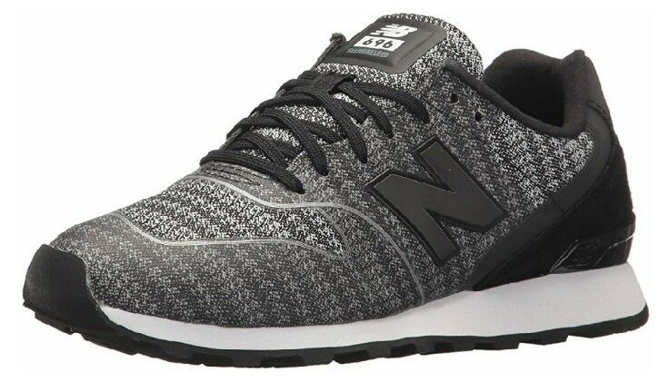 New Balance Women's 696 v1 Sneaker BLACK/CYCLONE Size 8 M