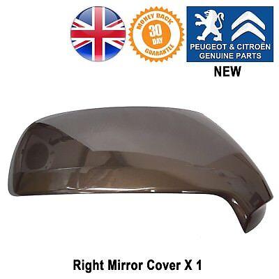 Peugeot 3008 MK1 2009-2017 Primed Door Wing Mirror Cover Pair Left /& Right