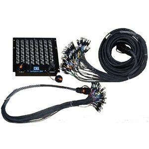 Cbi 32 Rackmount Splitter 10ft Mon 50ft Main Microphone