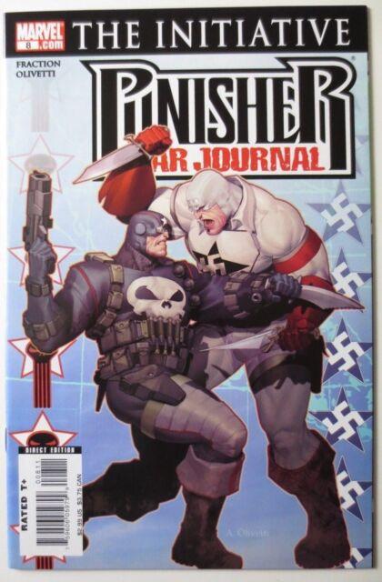 Punisher War Journal #8 (Aug 2007, Marvel) The Initiative (C4195)