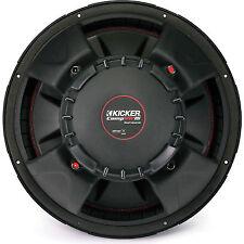 """Kicker 43CVR154 CompVR 15"""" subwoofer with dual 4-ohm voice coils"""