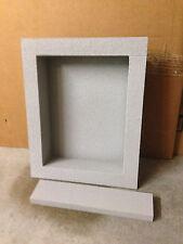 """PolyNiche Foam Shower Niche - EPS Waterproof 12""""x16"""" - Shampoo Soap Shelf Tile"""