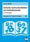Einfache Sachrechenblätter - 3./4. Klasse von Heiner Müller (2009, Mappe)